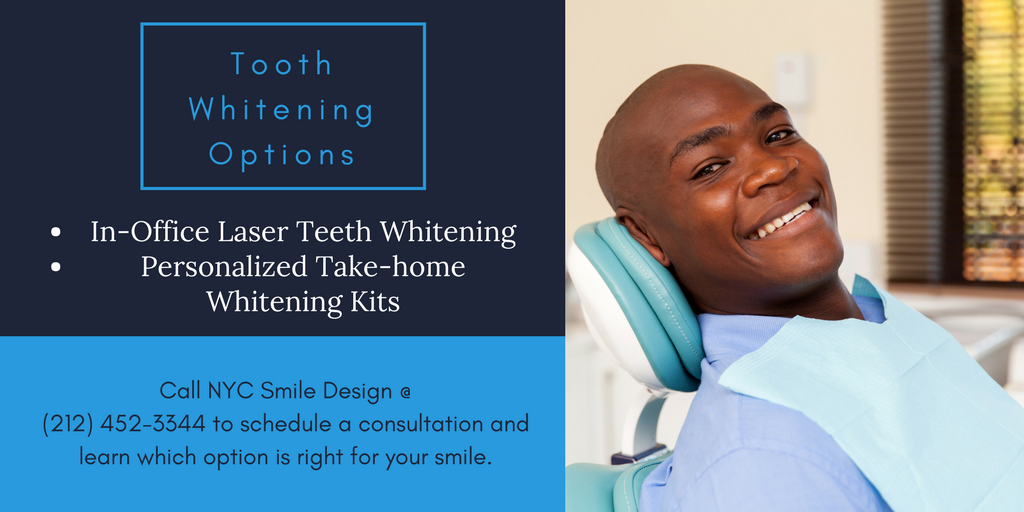 NYC Tooth Whitening Options | In-Office and Take-Home Teeth Whitening